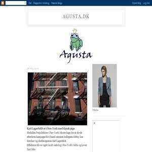 Agusta bloggen