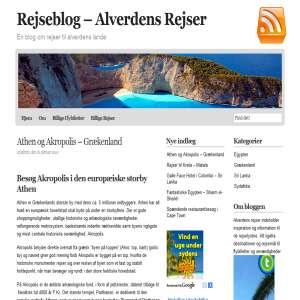Alverdens rejser - rejseblog
