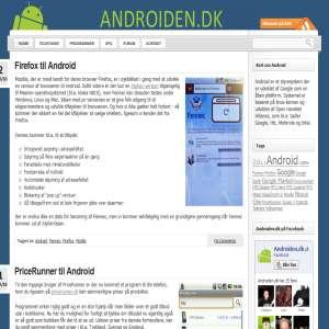Androiden.dk - Danmarks førende nyhedsside om Android