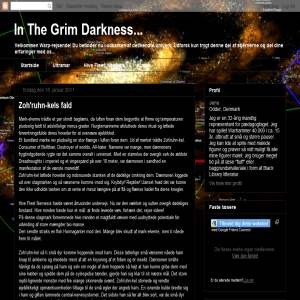 In The Grim Darkness...
