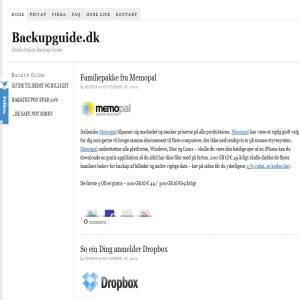 Online Backup Guide
