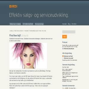 Birdi.dk - Salgstræning