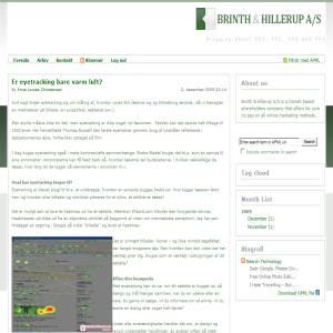 Online Markedsføring - Brinth & Hillerup