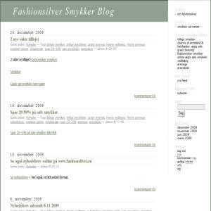 Fashionsilver smykker blog