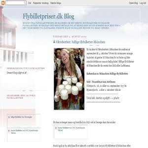 Flybilletpriser Blog