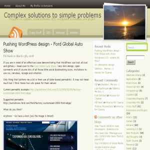 Complex Solutions to Simple Problems