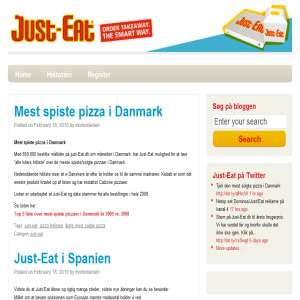Just-Eat blog