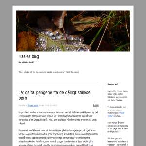 Hasles blog