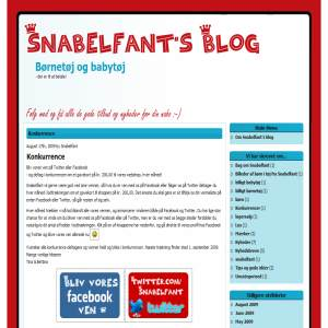 Snabelfants Blog