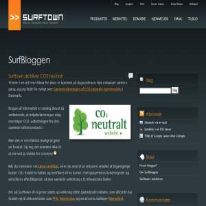 Blog om webhotel-branchen