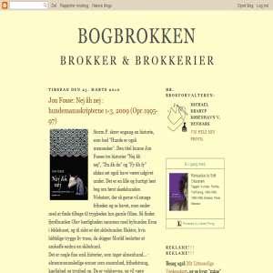 BOGBROKKEN: Brokker & Brokkerier