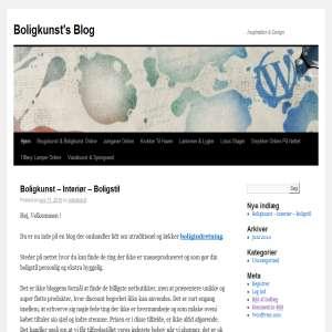Brugskunst & Boligstil Online