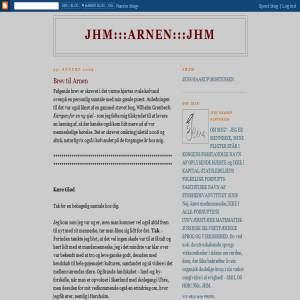 JHM - Brev til Arnen