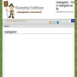 Camping & Campingpladser