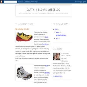 Captain Slows løbeblog