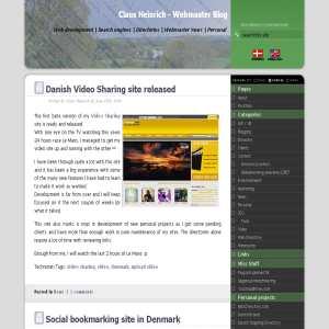 Webmaster Blog | Claus Heinrich