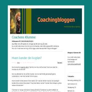 Coachingbloggen
