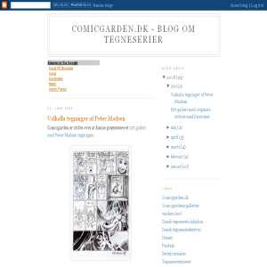 Blog om tegneserier