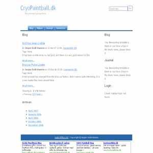 Cryopaintball.dk