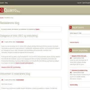 Bloggen på Quaero