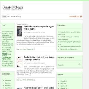 Danske lydbøger