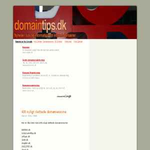 Domaintips.dk