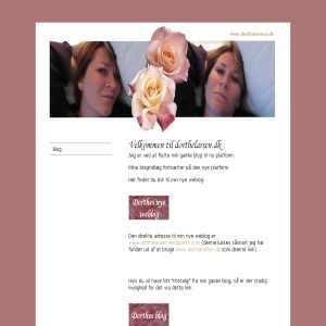 Dorthes blog