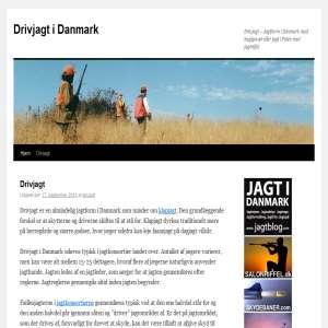 Drivjagt i Danmark