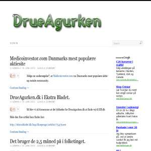 DrueAgurkens blog om BioPorto og andre sjove sager