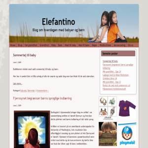 Elefantino - Blog om hverdagen med baby og børn