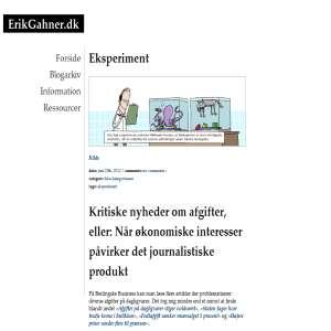 Erik Gahner Larsens blog