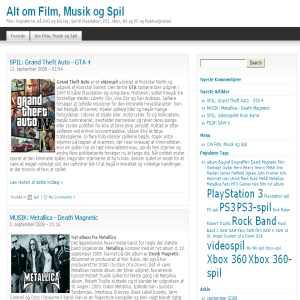 Film, Musik & Spil