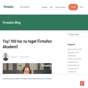 Firmafon Blog