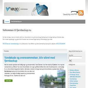 Fjernbackup.nu - Alt om Online Backup | Remote backup
