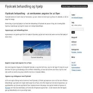 Flyskræk Blog