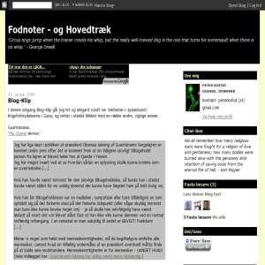Fodnoter & Hovedtræk