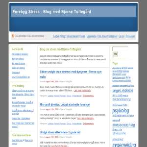 Blog om stress med Bjarne Toftegård