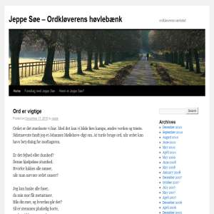 Jeppe Søe - fornuft.dk