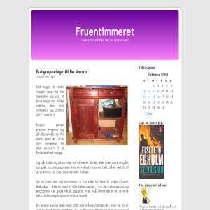 Fruentimmerets weblog