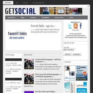 getsocial - find svar om sociale medier