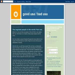 Good USA / Bad USA