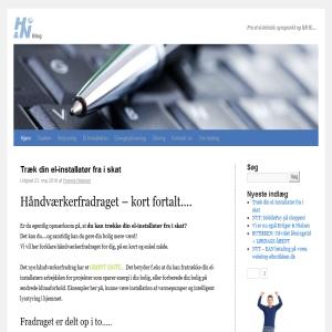 Hansen & Nielsen A/S - Alt det el-tekniske