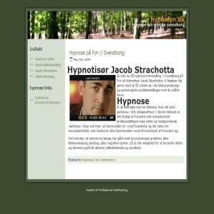 Hypnose med Hypnotisør Jacob Strachotta på Fyn i Svendborg