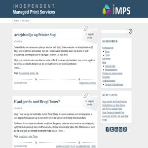 iMPS.dk - Independent Managed Print Services