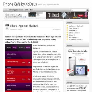 iPhone Café by XoDeus