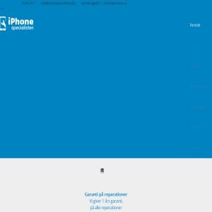 Iphone reparation iPhonespecialisten.dk