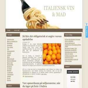 Italiensk Vin & Mad