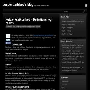Jesper Jarlskovs blog