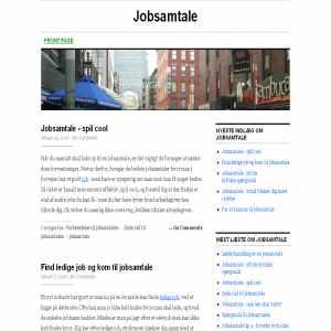Jobsamtale tips & hjælp