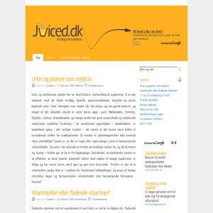 Juiced.dk - En blog om sundhed